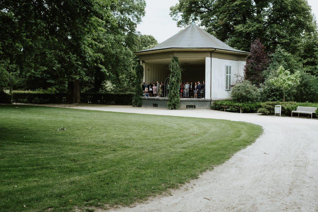 freie Trauung im Stadtgarten in Münster